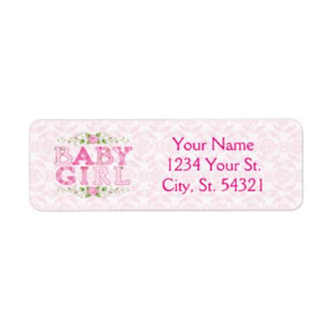 baby shower shipping address return address labels baby shower shipping address return address labels