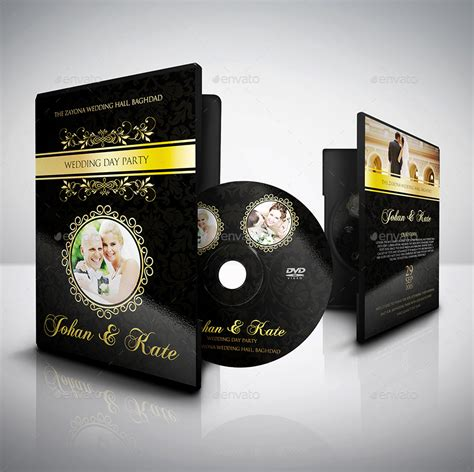 design label dvd wedding dvd cover and dvd label template vol 3 by