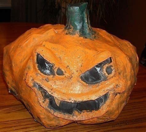 paper mache pumpkins paper mache o lanterns 183 a pumpkin 183 drawing spray