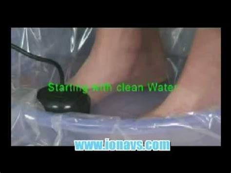 Does Foot Detox Bath Really Work by How Does The Ion Foot Detox Machine Work