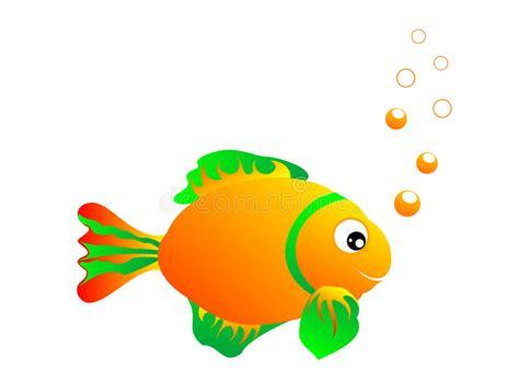 clipart pesci pesci e bolle illustrazione di stock illustrazione di