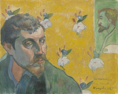 gauguin by himself vincent van gogh self portrait dedicated to paul gauguin smarthistory