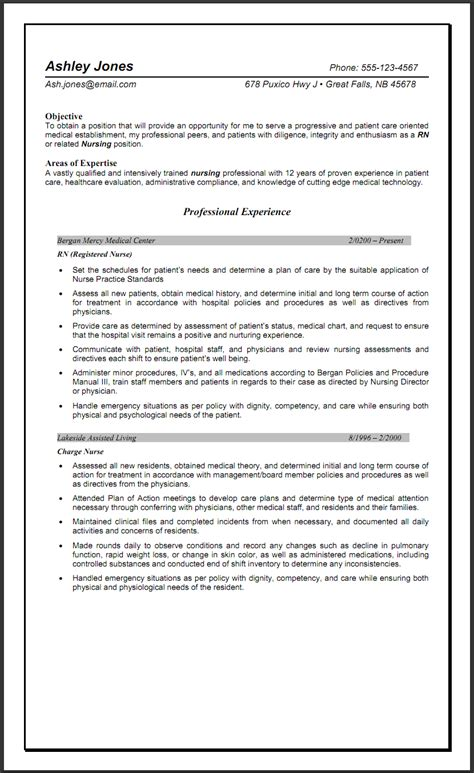 Best Resume Sles For Nurses rn objective statement 28 images healthcare resume