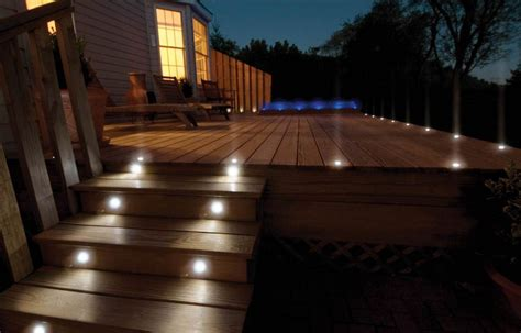 Patio Floor Lighting Illuminate Your Deck With Deck Lighting Ideas Carehomedecor