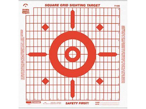 grid pattern target crosman visible impact 14 grid target paper package of 3