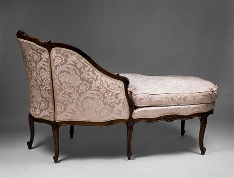 french provincial chaise louis xv 19th c french chaise lounge or chaise longue