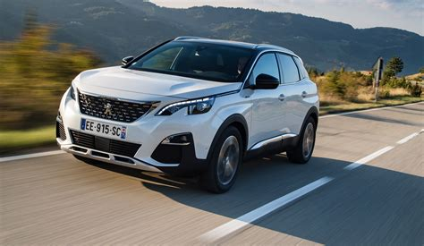 peugeot 3008 white 2017 2018 peugeot 3008 pricing and specs new gen suv touches