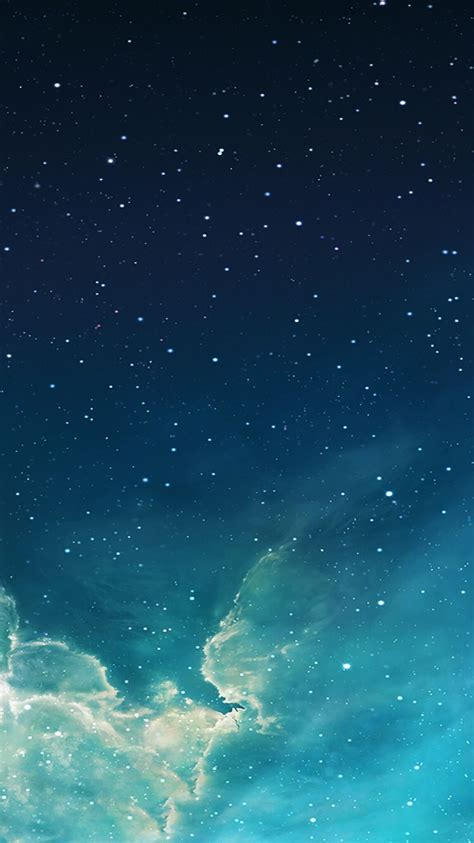 how i restore my lock screen s original starry sky wallpaper iphone