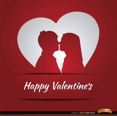 valentines card about happy valentines card design vector free