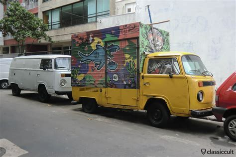 volkswagen bus 2013 vw bay window bus on rio de janeiro streets classiccult