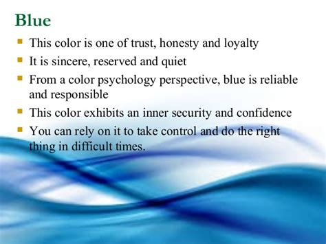 color psychology blue color psychology