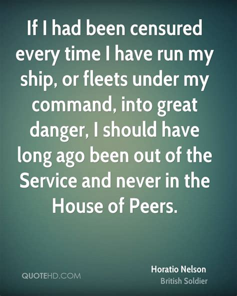 and if i have a ritual every time i visit a country i m horatio nelson quotes quotesgram