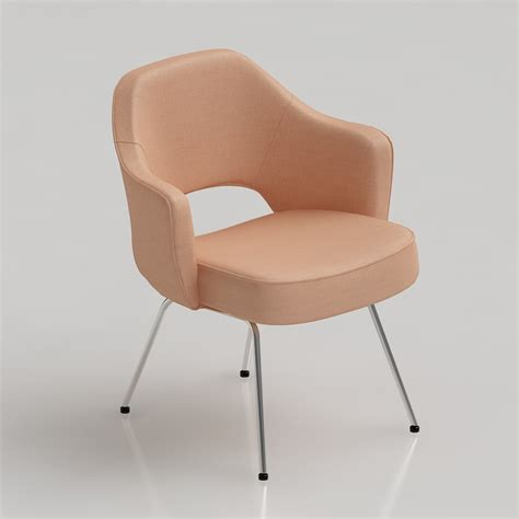 executive armchair 3d saarinen executive armchair high quality 3d models