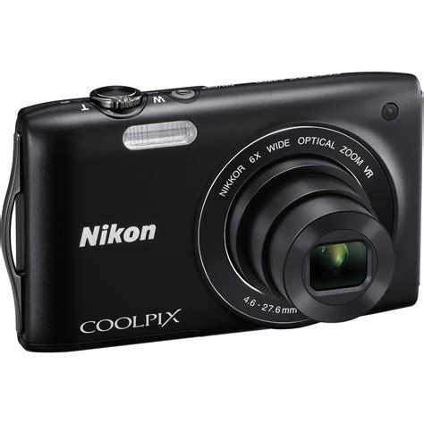 digital coolpix nikon coolpix s3300 digital black 26310 b h photo