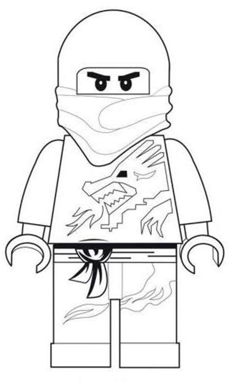 red ninja ninjago coloring pages