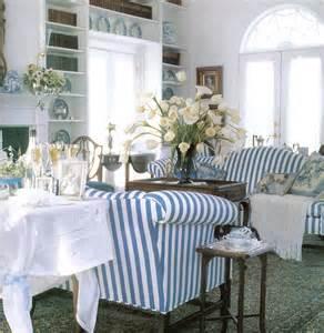 Striped Sofa And Loveseat Lilyoake A Love Affair Blue Amp White Stripes