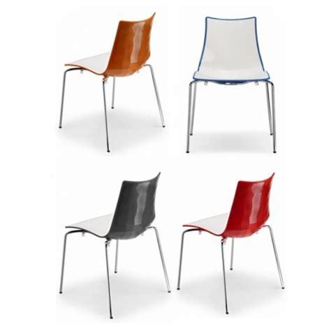 ovvio sgabelli sedie bicolore arredamento locali contract