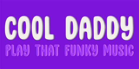 cool daddy font family  hanoded font bros