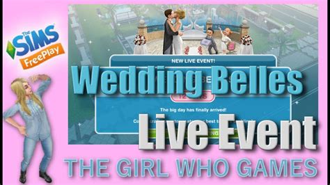 Wedding Belles Live Event In Sims Freeplay by The Sims Freeplay Wedding Belles Live Event