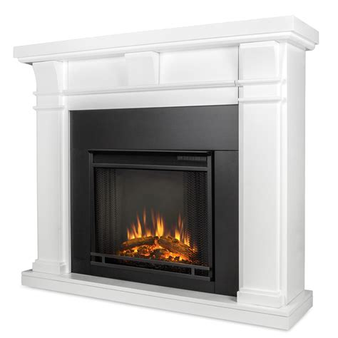Elctric Fireplaces by Real Porter Electric Fireplace In White
