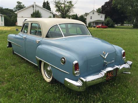 Chrysler Saratoga by 1952 Chrysler Saratoga Hemi V8 For Sale On Bat Auctions