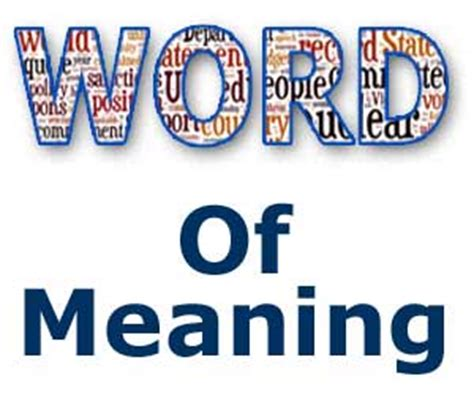 origin of the word meaning of word list word meaning or abbreviations