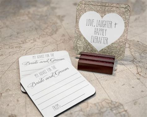 Wedding Advice Coasters by 1000 Ideas About Wedding Advice Cards On