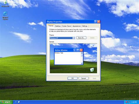 desktop themes download for windows xp windows xp default monitor driver