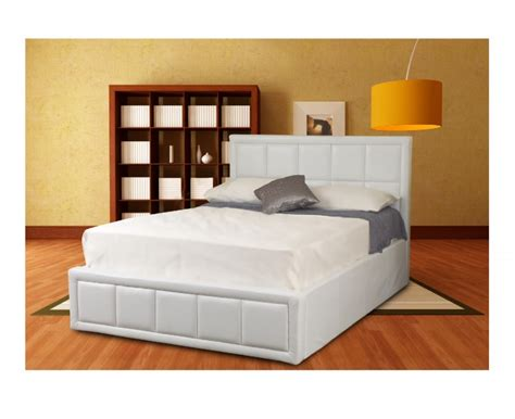 ottoman beds double sweet dreams tern white 4ft6 double ottoman bed frame by