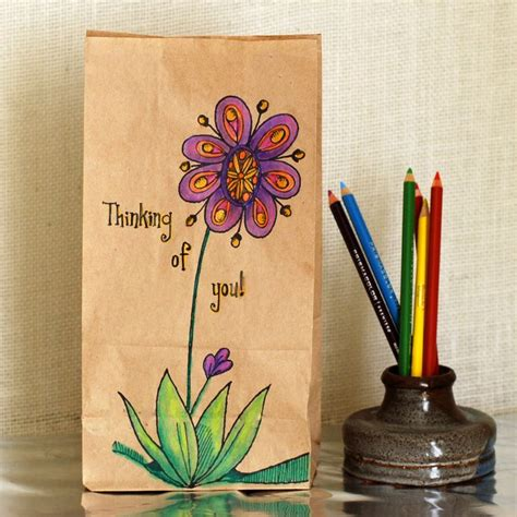 Paper Lunch Bag Crafts - 1000 images about mailable items on airmail
