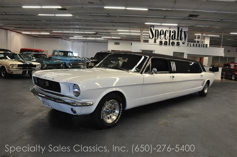mustang limo ford vehicles specialty sales classics