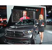 Dodge Beams With Pride At The 2014 North American