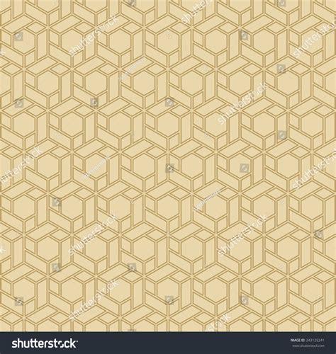gold hexagon pattern vintage background wallpaper pattern gold hexagonal stock