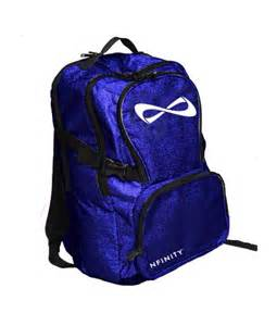 Infinity Cheer Backpacks Limited Edition Nfinity Blue Sparkle By Theellagrayceboutiqu