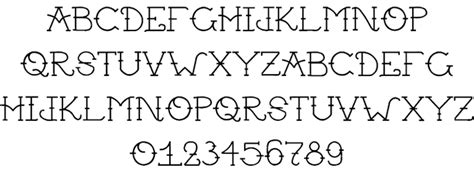 tattoo font by supasonic sage fontspace