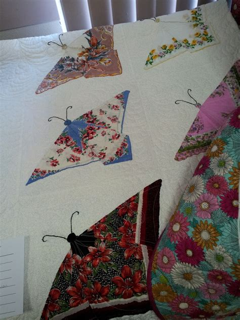 Handkerchief Butterfly Quilt Pattern by 17 Best Images About Handkerchief Quilts On
