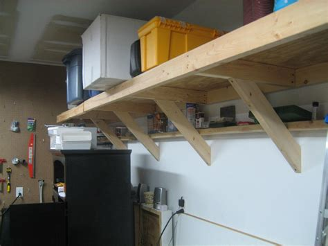 How To Build A Hanging Shelf In Garage by Impressing Workbench Construction Of Build Your Own Garage