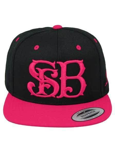 Snapback Hat Drone Crew Imbong sfb crew logo snapback hat pink