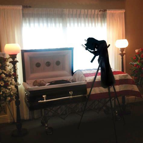 the gallery for gt left eye funeral open casket