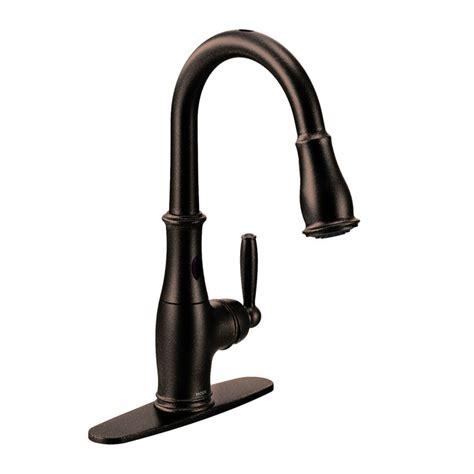 moen brantford kitchen faucet moen 7185eorb brantford rubbed bronze one handle high