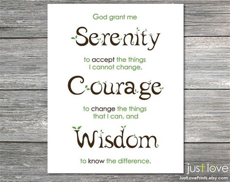 printable version serenity prayer unavailable listing on etsy
