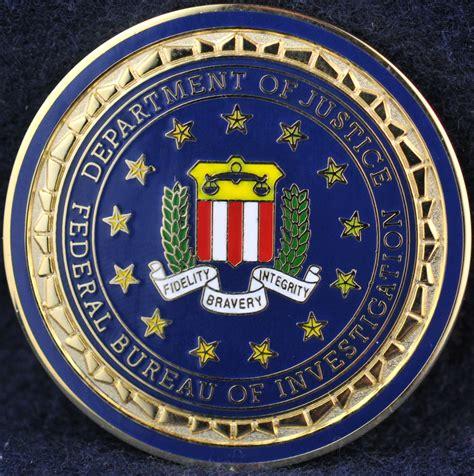 federal bureau of federal bureau of investigation challengecoins ca