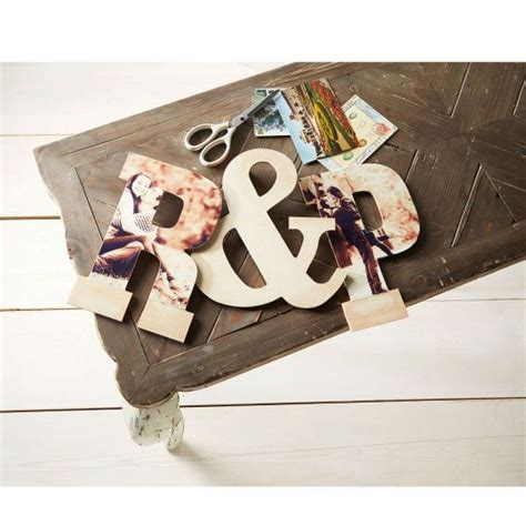 decoupage wood letters personalize these wooden letters with your favorite photos