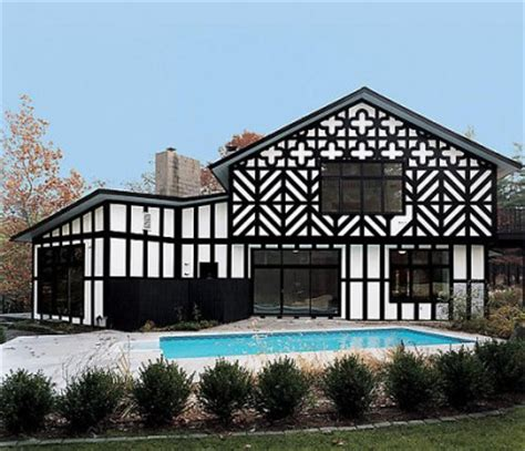 stylish home black and white house exteriors