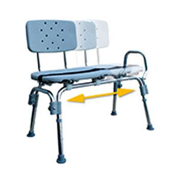 eagle transfer bench eagle health heavy duty transfer bench w sliding seat
