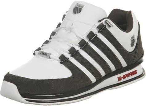 k swiss free running shoes k swiss rinzler sp shoes white brown