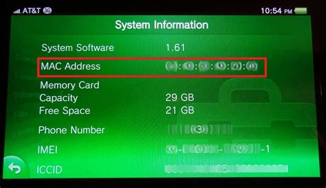 Wifi Address Lookup Playstation Vita How To Find Mac Address