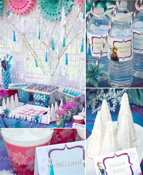 karas party ideas disneys frozen themed birthday party supplies decor ideas