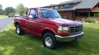 99 Ford F150 Clean 1994 Ford F150 4x4 5 Spd Flare Side 99 Rust Free