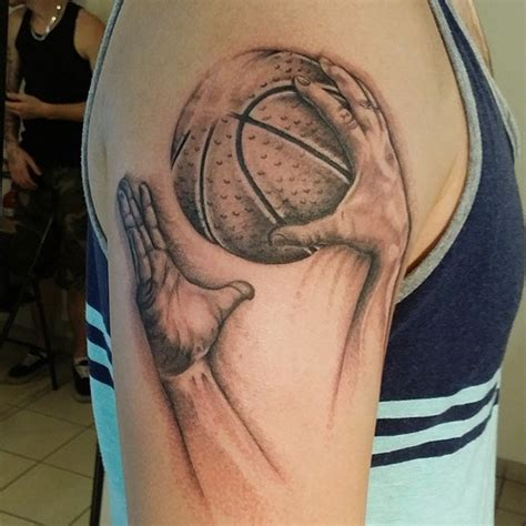 small basketball tattoos basketball tattoos designs ideas and meaning tattoos